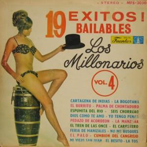 Los Millonarios, front, cd size