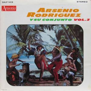 Arsenio Rodriguez, front, cd size