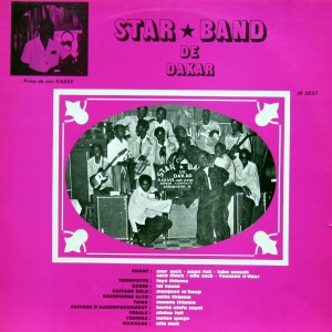 Star Band de Dakar, front