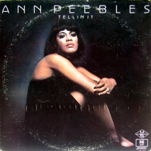 Ann Peebles, front, cd size