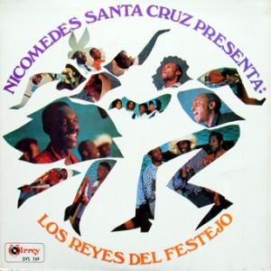 Los Reyes del Festejo, front, cd size