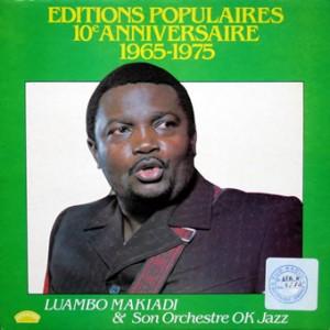 Luambo Makiadi, front, cd size