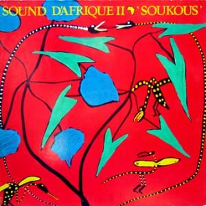 Sound d'Afrique 2, front, cd size