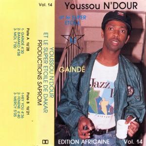 Youssou N'Dour, front, cd size