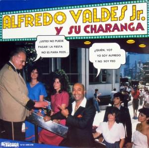 Alfredo Valdes Jr., front