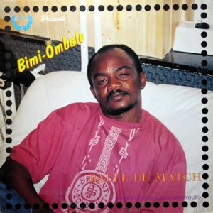 Bimi Ombale, front, cd size