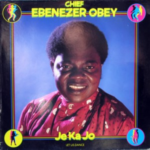 Chief Ebenezer Obey, front, cd size