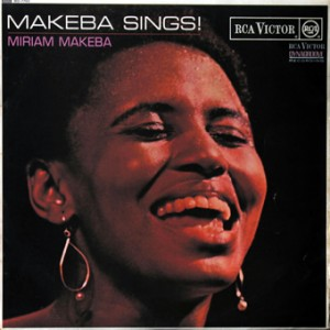 Miriam Makeba, front, cd size