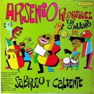 Arsenio Rodriguez, front
