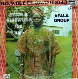Ayinla Omowura, front