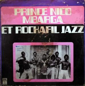 Prince Nico Mbarga, front