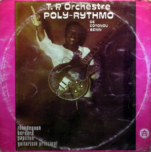 T.P. Orchestre Poly Rythmo, front