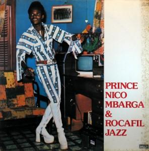 Nico Mbarga, front