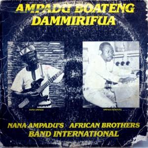 Nana Ampadu's African Brothers Band International, front, cd size