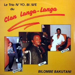 `Trio N'Yo.Bi.We, front