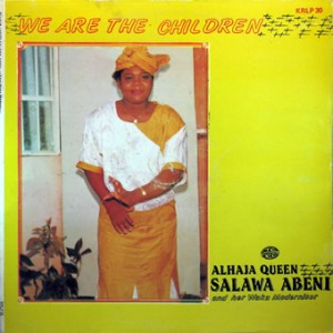 Alhaja Queen Salawa Abeni, front, cd size