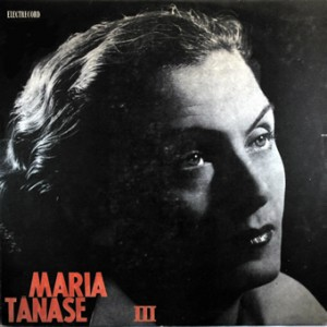 Maria Tanase, front, cd size