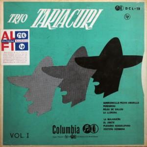 Trio Tariacuri, front, cd size