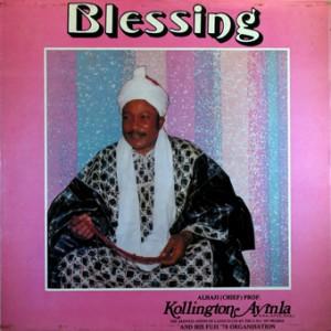 Kollington Ayinla, front, cd size