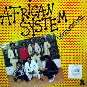 African System International, front, cd size