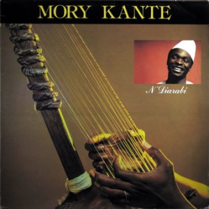 Mory Kante, front, cd size