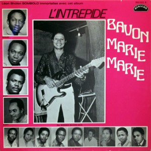 Bavon Marie Marie, front, cd size
