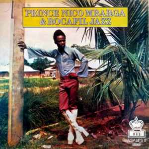 Prince Nico Mbarga, front, cd size