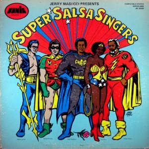 Super Salsa Singers, front, cd size
