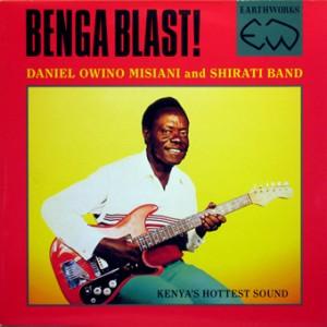 Benga Blast!, front, cd size