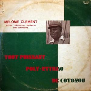 Mélome Clément & TP Poly-Rythmo, front, cd size