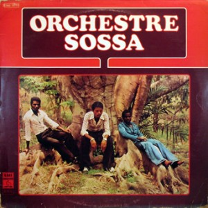 Orchestre Sossa, front, cd size