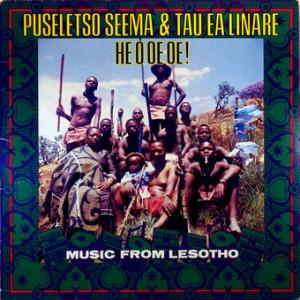 Puseletso Seema & Tau ea Linare, front, cd size