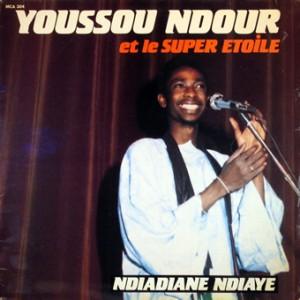 Youssou Ndour, front, cd size