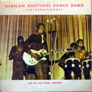 African Brothers Dance Band, front, cd size