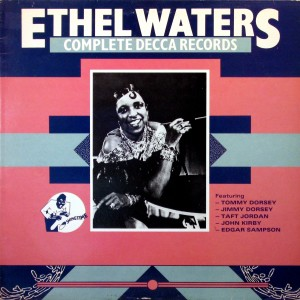Ethel Waters, front