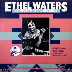 Ethel Waters, front