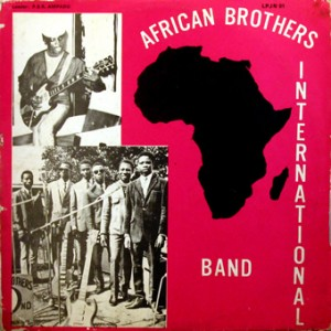 African Brothers Band, front, cd size