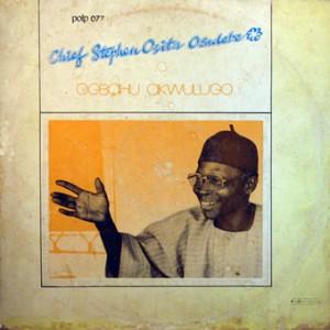 Chief Stephen Osita Osadebe, front, cd size