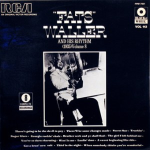 Fats Waller, front, cd size
