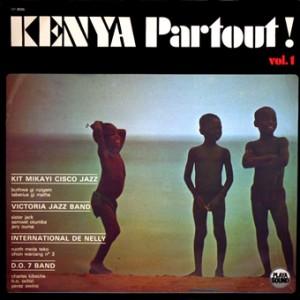 Kenya Partout vol.1, front, cd size