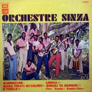 Orchestre Sinza, front, cd size