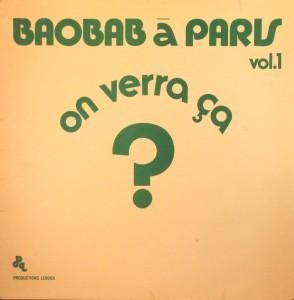 Baobab, front