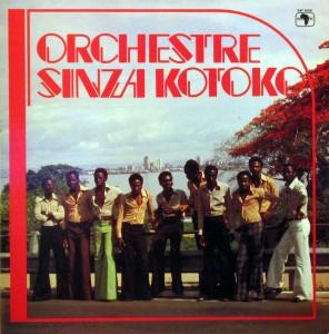 Orchestre Sinza Kotoko, front