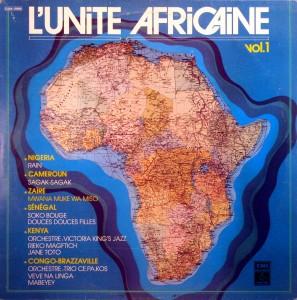 l'Unité Africaine vol.1, front