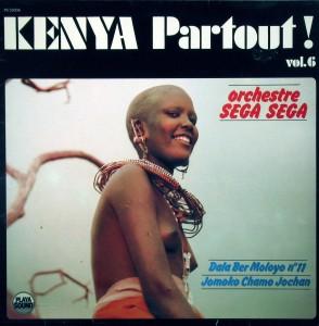 Kenya Partout vol.6, front