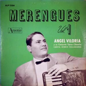 Merengues vol.1, front