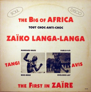 Zaïko Langa Langa, front