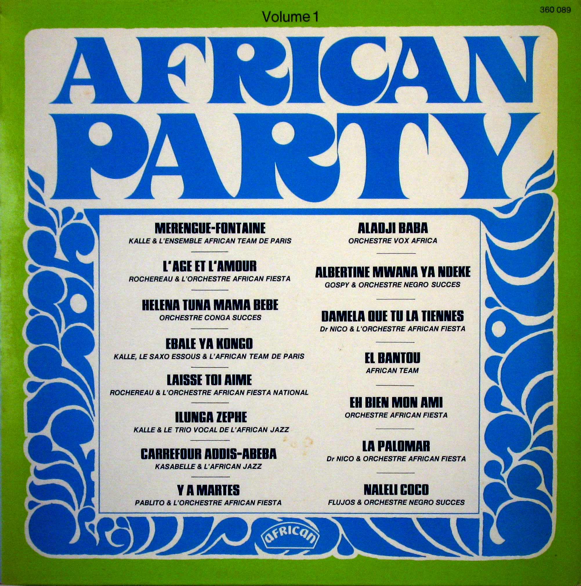 african party vol front