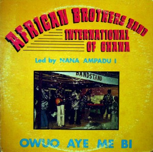 African Brothers Band, front