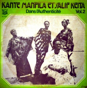 Kante Manfila et Salif Keita, front